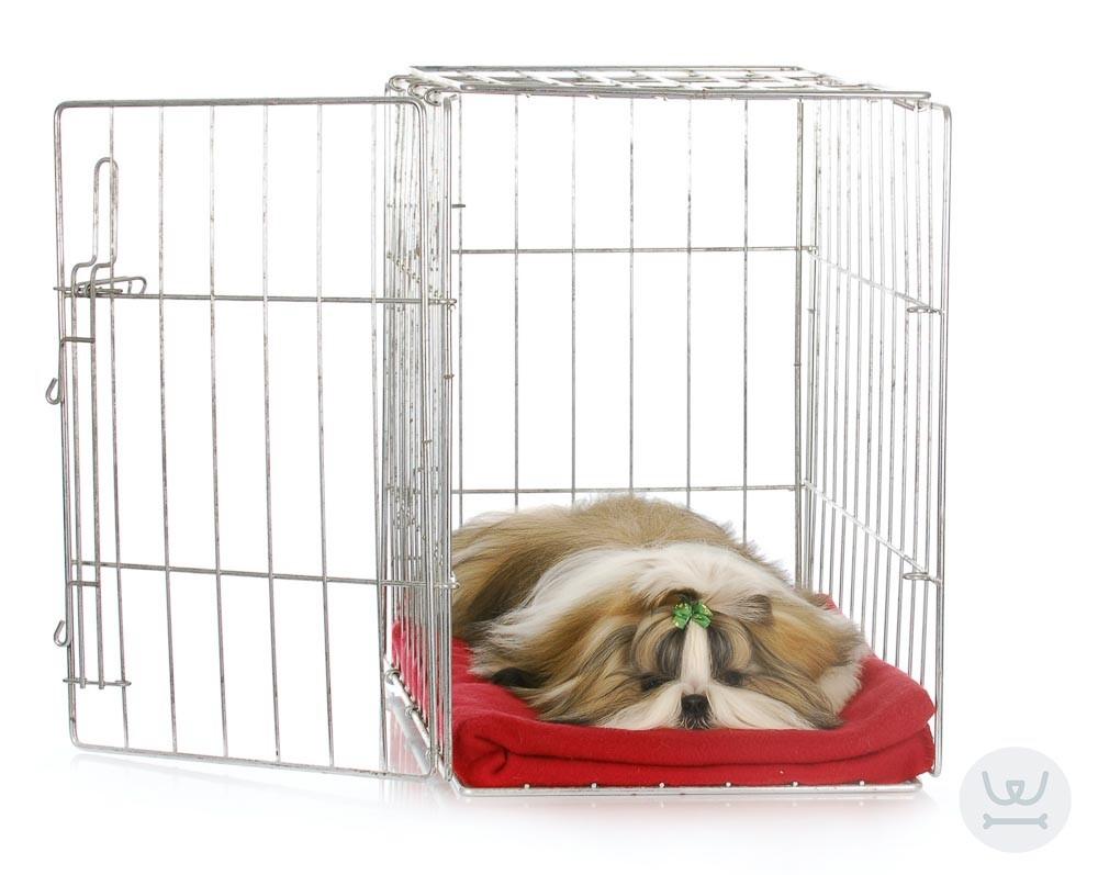 Woofland | crate training | εκπαίδευση σε κλουβάκι